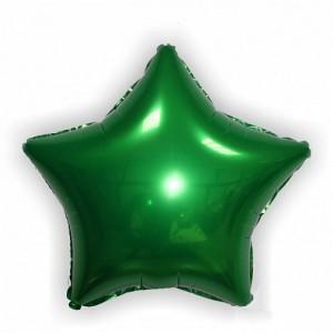 18''звезда зеленый
