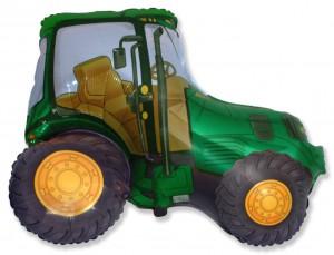 38 трактор зеленый