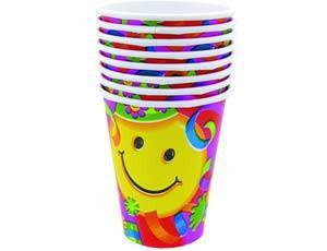 стаканы улыбки 8шт