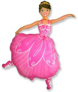 32 балерина розовая