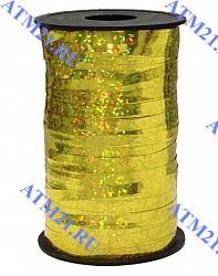 лента голография золото 250м