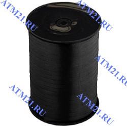 лента пастель черная 500м