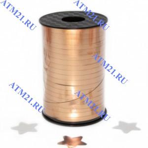 лента металлизоованная Бронза матовая 0.5х250м