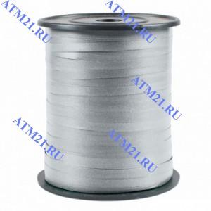 Лента (0,5 см*250 м) Серебро (205),Матовый, 1 шт.