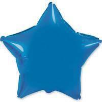 18'' звезда синяя