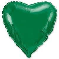 18''сердце зеленое