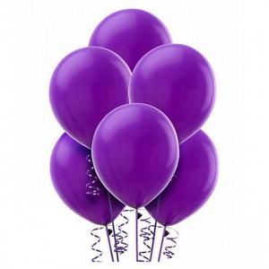 10/25см Lavender №49 фиолетовый  пастель воздушный шар 1шт