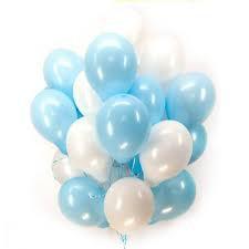 10/25см Пастель Light Blue 09 Воздушный шар 1шт