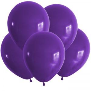 10/25см фиолетовый PURPLE 08 пастель воздушный шар 1шт
