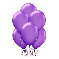 12/30см  Пастель Lavender 49 Воздушный шар 1шт
