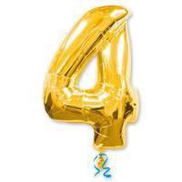 цифра 4 gold