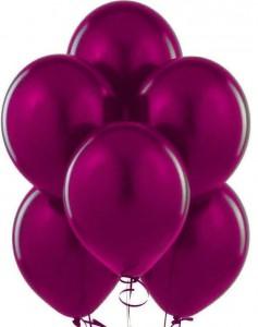 10/25см Бордовый BURGUNDY 47 пастель воздушный шар 1шт