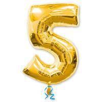 цифра 5 gold