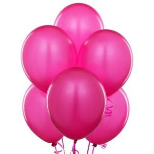 10/25см фуксия FUCHSIA 07 пастель воздушный шар 1шт