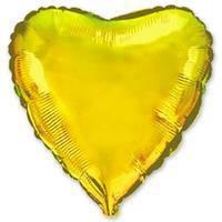 32''сердце золото