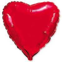 32''сердце красное