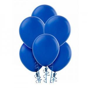 10/25см Blue 46 темно-синий васильковый воздушный шар 1шт