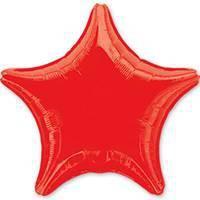 18'' звезда красная анагр