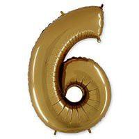 цифра 6 цифра 9 золото грабо