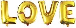 40см буквы love
