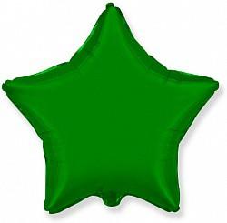 18'' звезда зеленая флекс