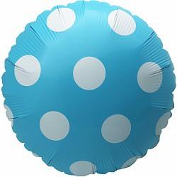 18 круг голубой с точками