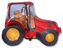 38 трактор красный(===E)