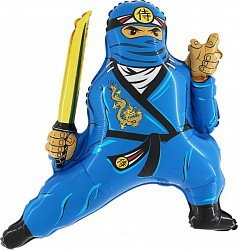 32 ниндзя синий