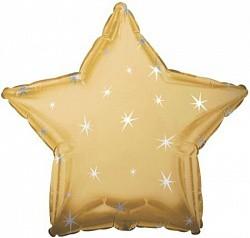 18 звезда золото искры