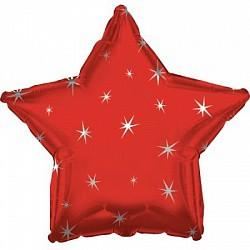 18 звезда красная искры
