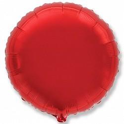 18 круг красный
