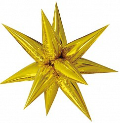 26 звезда составная золото