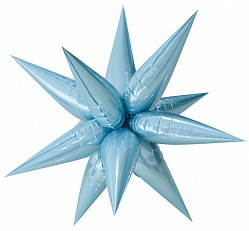 26 звезда составная голубая