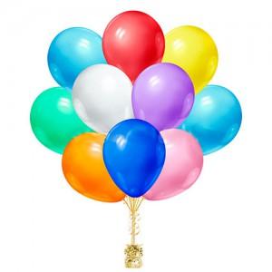 10''/25см воздушный шары ассорти шт.