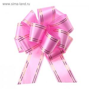 бант шар №5 розовый