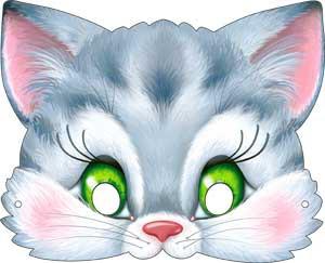 маска котенок