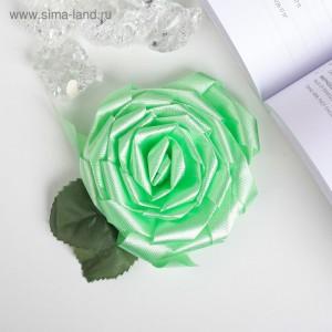 бант роза зеленый