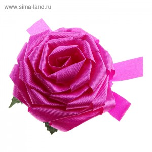 бант роза розов
