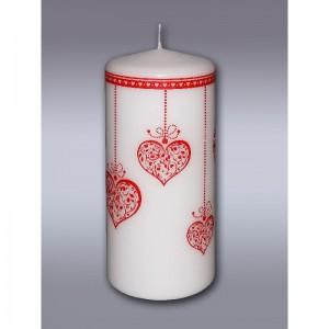 свеча пенек ожерелье