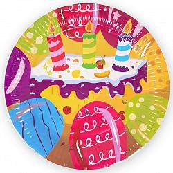 тарелки тортик 22см