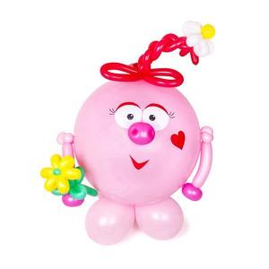 фигура Нюша из воздушных шаров