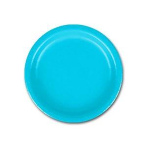 тарелка голубая 8 шт 17 см