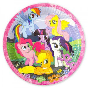 тарелка пони my little pony