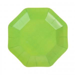 тарелка зеленая